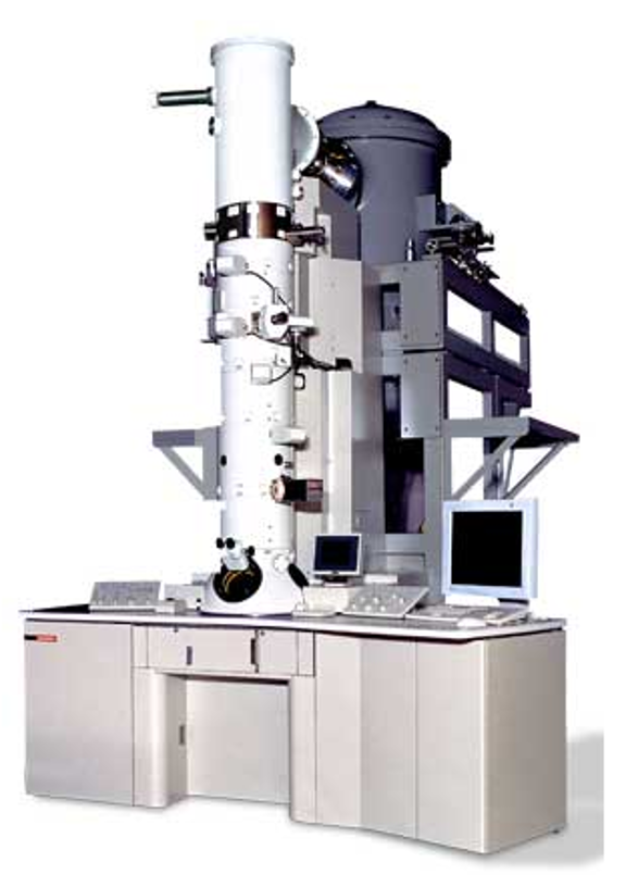An image of the JEOL JEM 3200FS transmission electron microscope.
